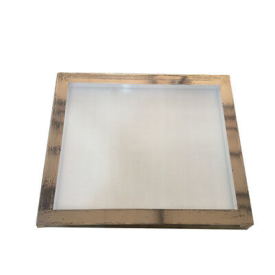 2 Pcs Aluminum Screen Printing Frame With 120 Mesh Pre-streched Screen 16x 20