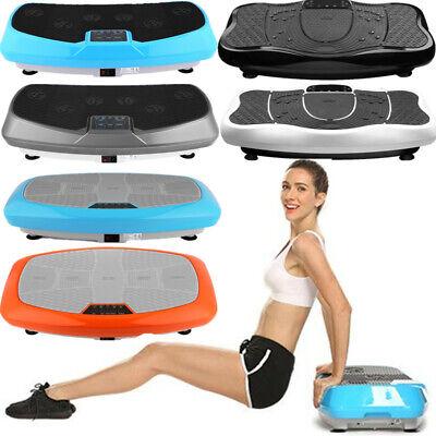 150kg Profi Vibrationsplatte 3D Vibration Heimtrainer Shaper Massage LCD Platten (Heimtrainer Profi)