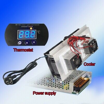 12v Electronic Semiconductor Air Conditioning Cooler Refrigeration Equipment