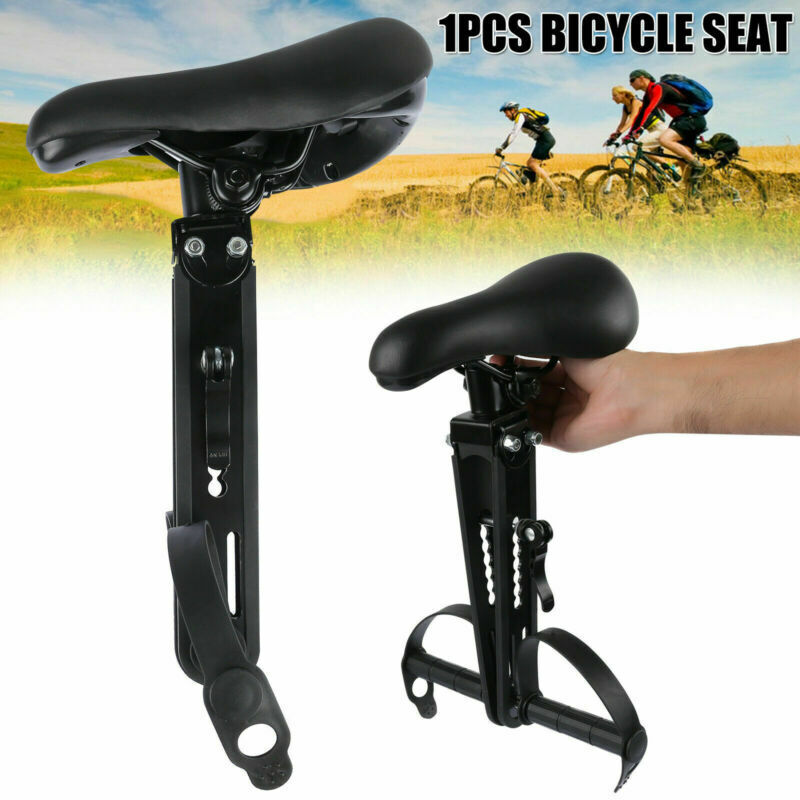 For Kids Front-Mounted Bicycle Seat Adjustable Detachable Mountain Bike Seat