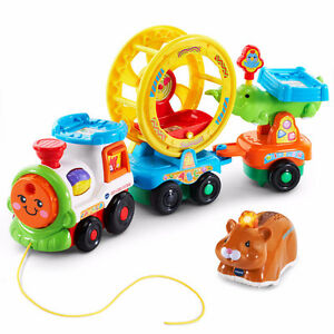 NEW! Go! Go! Smart Animals Roll and Spin Pet Train by VTech!
