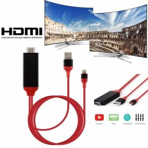 Lightning to HDMI Mirroring Cable AV Adapter for iPhone