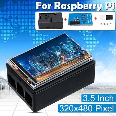 3.5 Inch Tft Touch Screen Lcd Display Case For Raspberry Pi A B A 2b 3b 3b