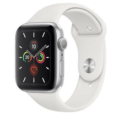 Reloj apple watch series 5 44 mm caja de aluminio con correa deport MWVD2-SILVER