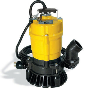 RENT ME -- WACKER SUBMERSIBLE PUMP WITH 2x50ft HOSES $30 a day Kitchener / Waterloo Kitchener Area image 1