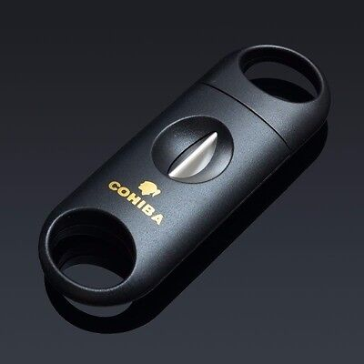 Cigar Handle (Cohiba V Blade Black Plastic Handle Cigar Cutter (Buy 2 Get 1)