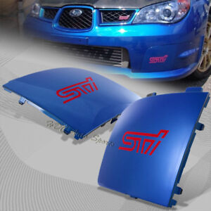 For 2006-2007 Subaru Impreza WRX STi Blue Fog Light Lamp Bumper