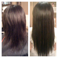 Hair extensions $250!