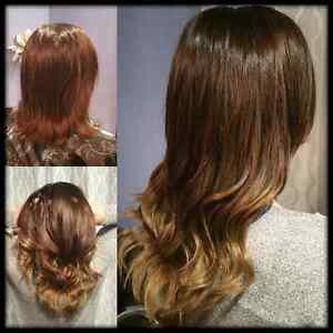 Premium Hair Extensions and Cutting/Coloring/Styling Services Edmonton Edmonton Area image 4
