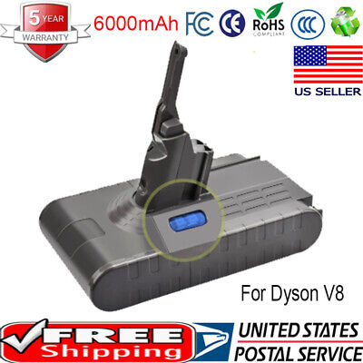 6000mAh 21.6 Volt Rechargeable Battery High Capacity For Dyson V8 Vacuum Cleaner