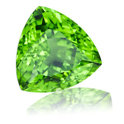6mm TRILLIANT-FACET STRONG-GREEN NATURAL AFGHAN PERIDOT GEMSTONE £1 NR!