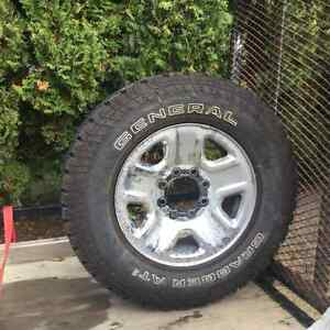 Truck Tires and rims for sale