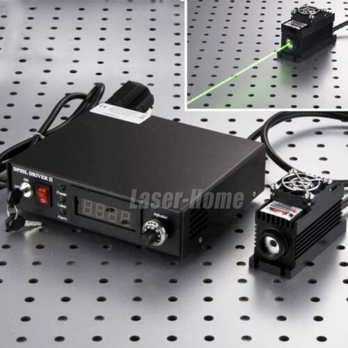 3w 532nm Green Laser Dot Diode Module 3000mw + Ttl/analog + Tec +digital Display