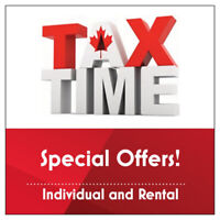 INCOME TAX PREPARATION - SPECIAL OFFERS!!!