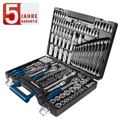 Scheppach Werkzeugkoffer TB217 217-tlg. Steckschlüssel Satz Bits Stecknüsse