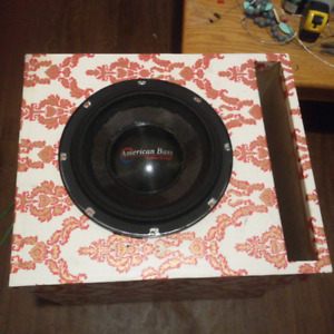 12 inch Subwoofer, REV2 ABNEO Re V2 American bass neo