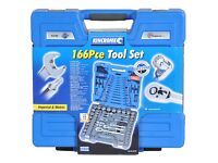 Kincrome 166 piece tool set with lifetime guarantee £90 or nearest offer