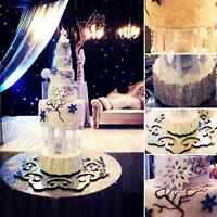 $350 THREE TIER WEDDING CAKES! WOW! JANUARY BOOKINGS ONLY!