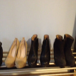 Aldo's wedge shoes 30.00 for all three pairs - like new - size 6
