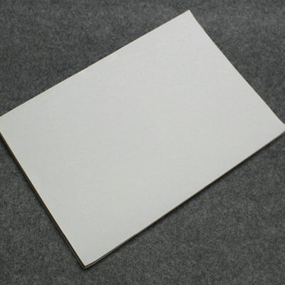50 X Blank Polymer Paper Synthetic Paper Sticker For Only Laser Printer White A4