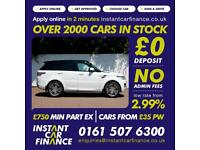 Land Rover Range Rover Sport 3.0SD V6(292ps)4X4 (s/s) Auto 2014.HSE from £201 PW
