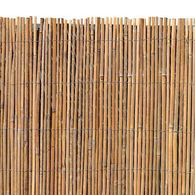 Bambusmatte Sichtschutzzaun Gartenzaun Bambus Sichtschutz Natur Windschutz