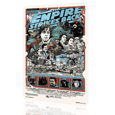 METAL SIGN STAR WARS The Empire Strikes Collectors 06 Exclusive Poster Decor