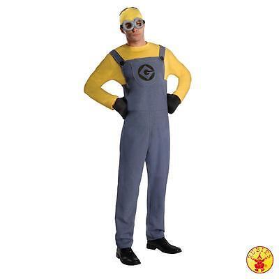 RUB 3887201 Herren Kostüm Minion Dave Dress Overall Handschuhe Brille und Hut