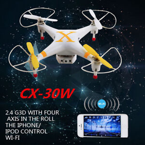 MINI Drone Quadcopter CHEERSON CX-30W FPV WIFI Controled 4CH