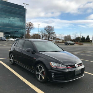 2016 Volkswagen GTI Autobahn - FULLY LOADED with winter tires