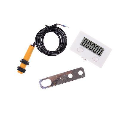 Digital Counter 5 Digit 0-99999 plus UP Gauge +Proximity Switch Sensor new XE