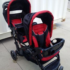 Sit and Stand Eclipse Double Stroller