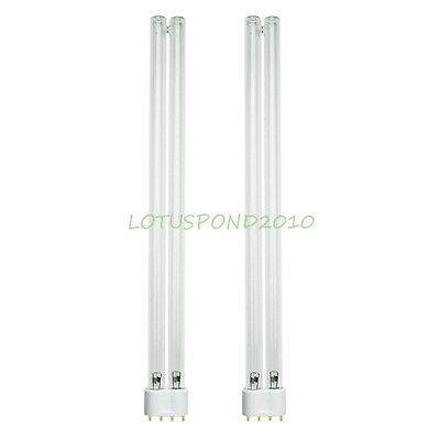 2pcs 36-watt Replacement UV Light Bulb Lamp for Jebao PU36 CW36 36W UV Clarifier