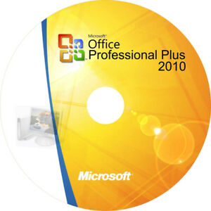 Office Professional Plus 2010 W/ Serial Key