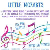 Little Mozarts Music Class for Toddlers!