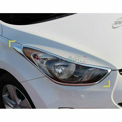 Top Window Accent Line Trim 4P 1Set For 11 12 Hyundai Elantra Avante MD