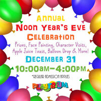 New Years Eve for the Kids. Best place in Kingston to celebrate!