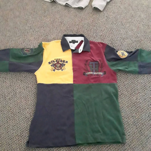 6fa2118d3192aa Tommy Hilfiger color block rugby shirt