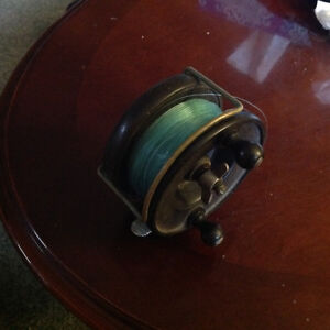 VINTAGE Fishing Reel...ENGLISH made
