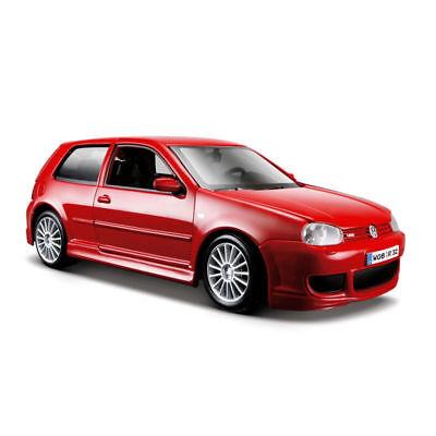 MAISTO 1:24 SPECIAL EDITION VOLKSWAGEN GOLF R32 DIECAST CAR 34290 RED