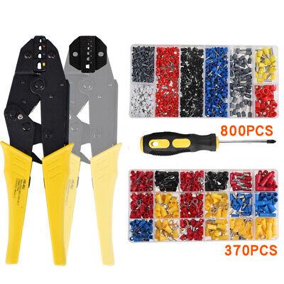Ratchet Wire Crimping Tools Wire Terminals Crimper Plier Terminal Repair Tool