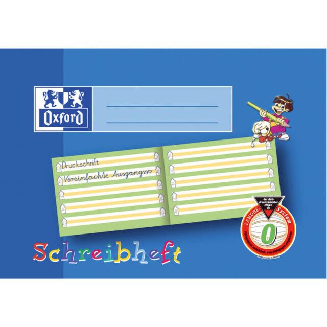 OXFORD - Schreiblernheft BAYERN   Lineatur 0 - DIN A5 - 1. Schuljahr - 1 Stück