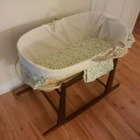 Moses crib- used once
