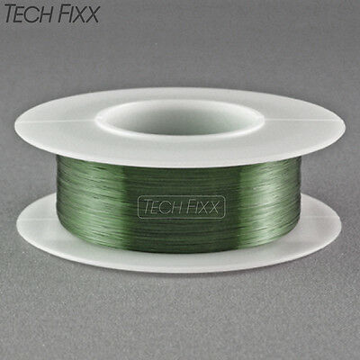 Magnet Wire 32 Gauge Awg Enameled Copper 345 Feet Coil Winding 155c Green