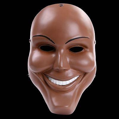 Purge Kostüme (The Purge 1 Film Kostüm Horror Kostüm Maske Erwachsene Cosplay Anarchie Harz)