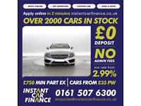 Mercedes-Benz C220 2.1d ( 170bhp ) AMG Line LOW WEEKLY PAYMENTS £120
