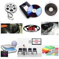 Audio, Video, Film Converting to DVD or CD @ Immediator