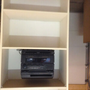 Cabinet and radio stereo
