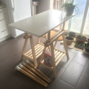 IKEA Table / Kitchen Island / Desk (Hilver / Finnvard)