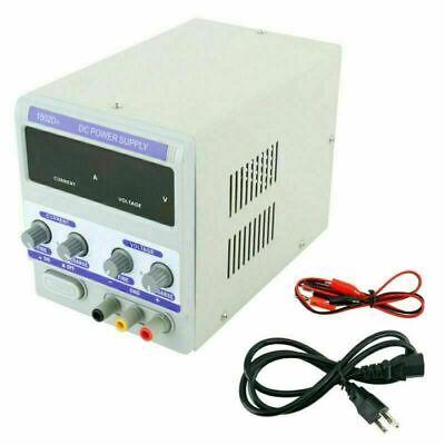 0-15v Dc Adjustable Regulated Power Supply Mobile Phone Repair Led Display Usa
